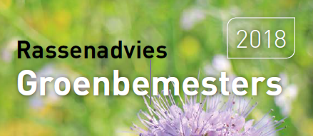 Flyer groenbemesters 2018